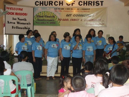 Gumaoc Church of Christ Women's Choir