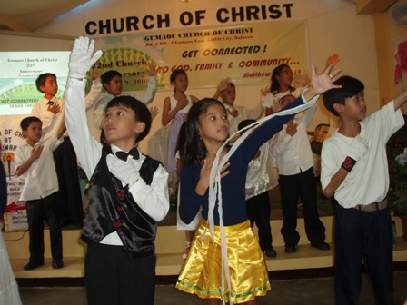 Kids Special Number during the Church of Christ 22nd Anniversary